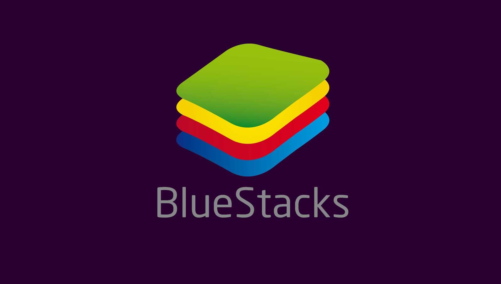 Bluestacks логотип эмулятора